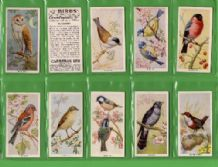 Tobacco cigarette cards Birds of the Countryside  1939